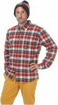 Picture Mens Cooper Shirt Rot, XL, Herren Langarm-Shirt ▶ %SALE 45%