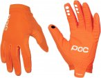 POC Avip Glove Long Orange | Größe M |  Fingerhandschuh
