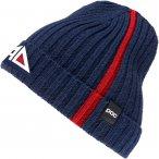 POC Ribbed Knit Beanie American Downhiller Edition Blau | Größe One Size |  Ko