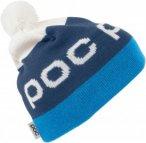 POC Stripe POM Beanie Blau, Accessoires, One Size