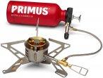 Primus Kocher Omnifuel II MIT Brennstoffflasche Grau / Rot | Größe One Size Ga