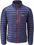 Rab Microlight Jacket Blau, Male Daunen Daunenjacke, S