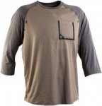 Race Face Stage Long-Sleeve Jersey Beige, Male Kurzarm-Shirt, M