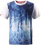 Reima Boys Kuutamo T-Shirt Blau   Größe 104   Herren Kurzarm-Shirt