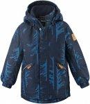 Reima Boys Nappaa Winter Jacket Blau | Größe 122 | Jungen Isolationsjacke