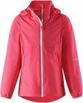 Reima Girls Slusse Jacket Rot, Female 110 -Farbe Neon Red, 110