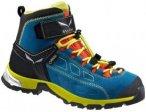 Salewa Junior Alp Player Mid Gtx® Blau, 34, Kinder Hiking-& Approach-Schuh ▶