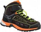 Salewa Junior Alp Player Mid Gtx® Schwarz, Gore-Tex® Hiking-& Approach-Schuh,