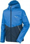 Salewa Kids Puez 2 Raintec Jacket Colorblock, 176 -Farbe Royal Blue, 176