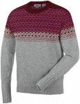 Salewa Fanes Wool Sweater Grau, Male Freizeitpullover, L