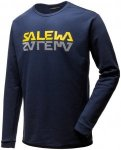 Salewa Reflection DRI-Release Sweater Blau, Male Langarm-Shirt, XXL