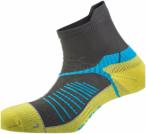 Salewa Ultra Trainer Socks Gelb-Grau, 35-37,Laufsocken