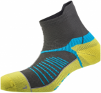 Salewa Ultra Trainer Socks Gelb-Grau, 44-46,Laufsocken