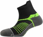 Salewa Ultra Trainer Socks Schwarz-Grau, 38-40,Laufsocken