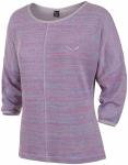 Salewa W Frea Melange Dry Longsleeve Tee | Größe 38,40 | Damen Langarm-Shirt