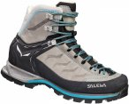 Salewa Mountain Trainer Mid Leather Grau, Female EU 37 -Farbe Pewter -Ocean, 37