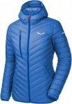 Salewa Ortles Light Down Hood Jacket Blau, Female Daunen Daunenjacke, 40