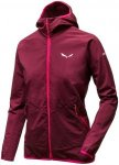 Salewa Puez Durastretch Full-Zip Hoody Rot, Female Jacke, 38