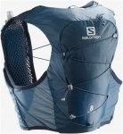Salomon Active Skin 8 Set Blau | Größe 8l - M |  Trinksystem
