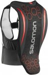 Salomon Junior Flexcell Schwarz, Junior S, Kinder Protektor ▶ %SALE 30%