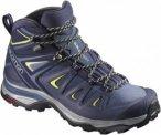 Salomon X Ultra 3 Mid Gtx® Blau, Female Gore-Tex® Hiking-& Approach-Schuh, 37