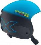 Salomon X Race Junior Blau-Schwarz, JRS, Kinder Ski-& Snowboardhelm ▶ %SALE 25