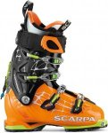 Scarpa Mens Freedom RS Orange-Schwarz, 41.5, Herren Alpin-Skischuh ▶ %SALE 35%