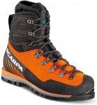 Scarpa M Mont Blanc Pro Gtx® Orange / Schwarz | Größe EU 41.5 | Herren Bergsc