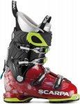 Scarpa Womens Freedom SL Rot-Schwarz, 39.5, Damen Alpin-Skischuh ▶ %SALE 40%
