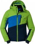 Schöffel Boys Ski Jacket Wannenkopf Colorblock / Blau / Grün | Größe 152 | J