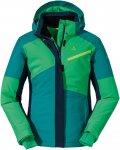 Schöffel Girls Ski Jacket Wannenkopf Colorblock / Blau / Grün | Größe 176 |