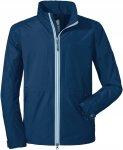 Schöffel M Jacket Pittsburgh3 Blau | Größe 52 | Herren Regenjacke