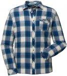 Schöffel Shirt Antwerpen Blau, Male Langarm-Hemd, 50