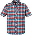 Schöffel M Shirt Bischofshofen3 Kariert / Blau / Rot   Größe 52   Herren Hemd