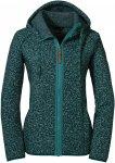 Schöffel W Fleece Hoody Aberdeen2 Grün | Größe 36 | Damen Freizeitjacke