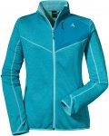 Schöffel W Fleece Jacket Houston1 Blau   Größe 40   Damen Freizeitjacke