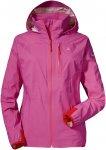 Schöffel W Jacket Neufundland4 Pink | Größe 42 | Damen Windbreaker