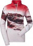 Schöffel W Longsleeve Arles2 Rot / Weiß   Größe 40   Damen T-Shirt
