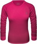 Schöffel W Merino Sport Shirt 1/1 ARM Pink   Damen Unterwäsche
