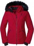 Schöffel W Ski Jacket Canazei L Rot | Größe 36 | Damen Regenjacke