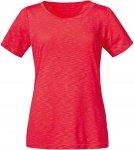 Schöffel W T Shirt Verviers2 Rot | Größe 36 | Damen T-Shirt