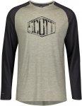 Scott M Trail Flow Raglan L/SL Shirt Colorblock / Grün | Herren T-Shirt