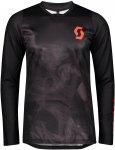 Scott M Trail Progressive L/SL Shirt Schwarz   Herren T-Shirt