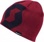 Scott Team 10 Beanie Rot   Größe One Size    Kopfbedeckung