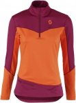 Scott Defined Warm Pullover Orange, Female Sweaters & Hoodies, XS
