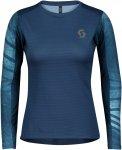 Scott W Trail RUN L/SL Shirt Blau   Größe XL   Damen T-Shirt