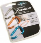 Sea to Summit Accessory Carabiner Orange, Klettern, One Size