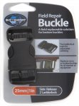 Sea to Summit Field Repair Buckle 25mm Side Release Schwarz | Größe One Size |