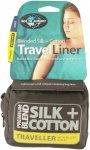 Sea to Summit Silk/Cotton Travel Liner Traveller   Größe 225 cm    Innenschlaf
