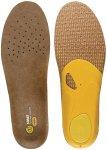 Sidas 3feet Outdoor High Einlegesohlen Braun / Gelb   Größe EU 44-45    Schuh-